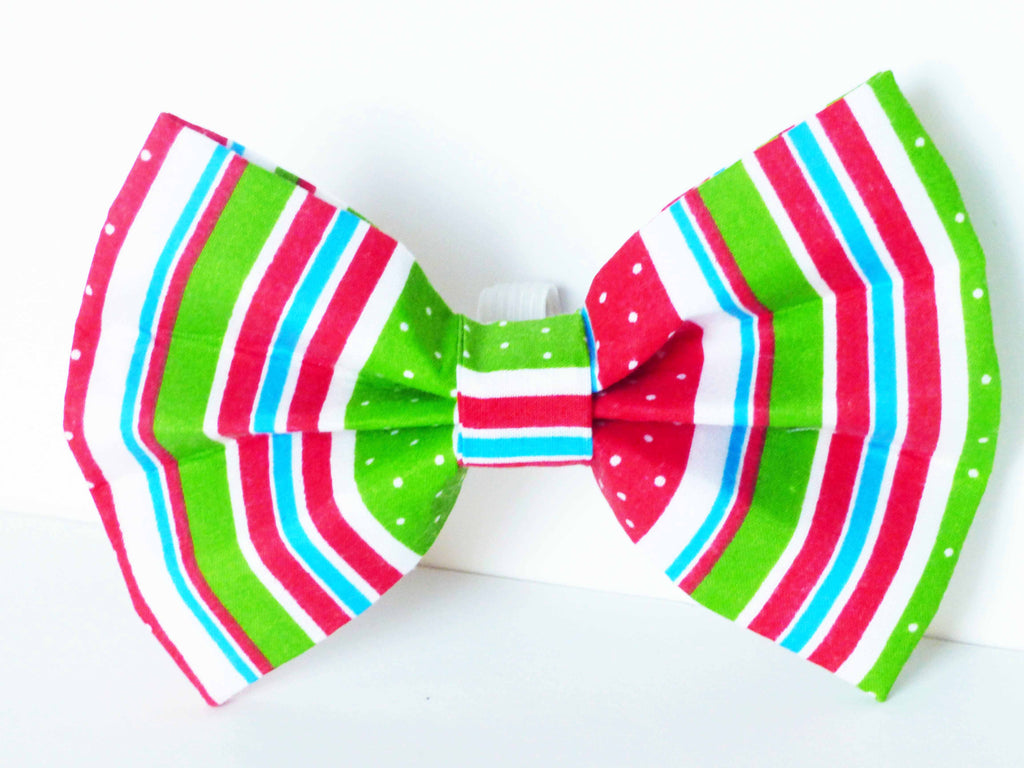 "Dog & Cat Bow Tie ""Soda Pop"" by Mabel & Mu"