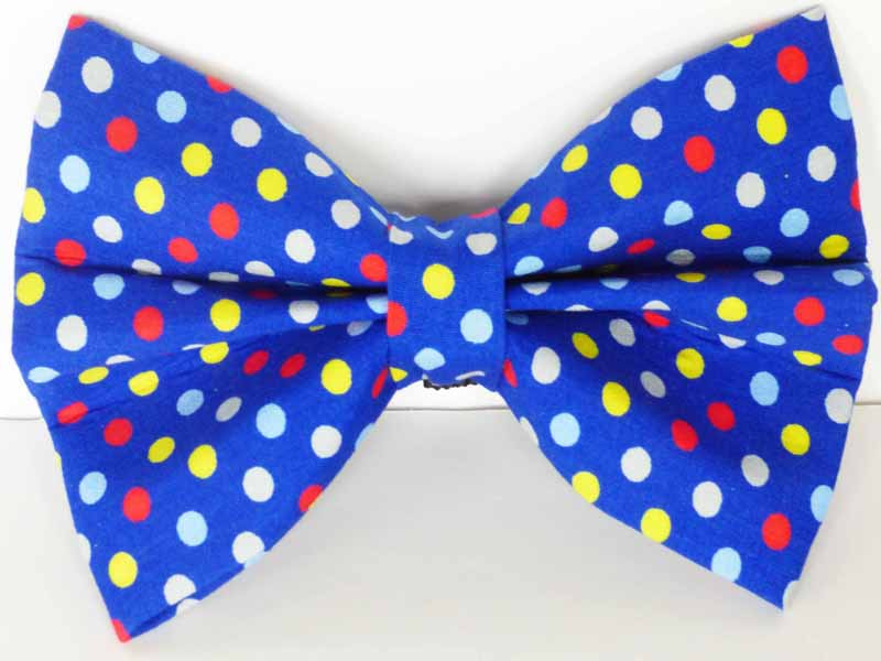 """Bertie Blue"" Cat & Kitten Bowtie by Mabel & Mu"