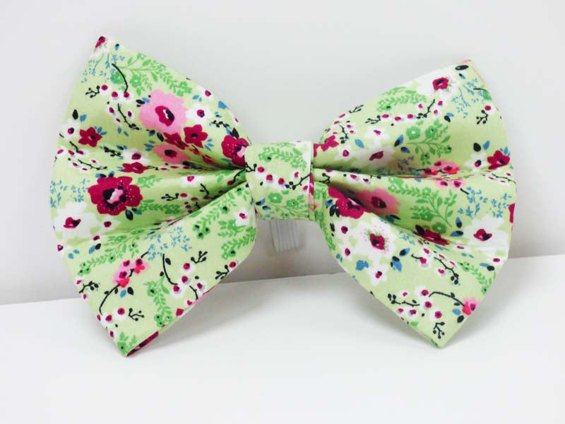 "Dog Bow Tie ""Meadow"" by Mabel & Mu"