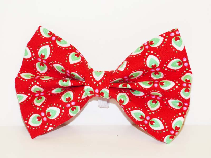 "Dog Bow Tie ""Peppermint Cream"" by Mabel & Mu"