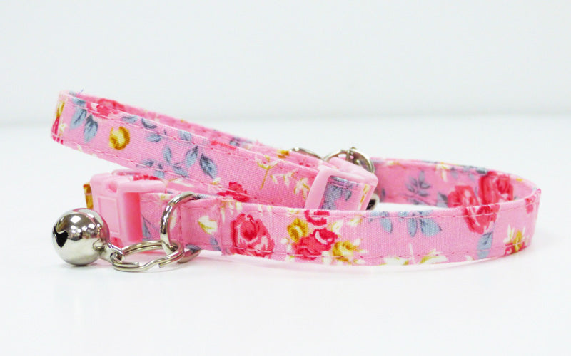 "Cat & Kitten Collar ""Rosie"" by Mabel & Mu"