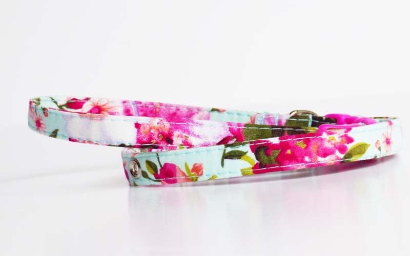 Orchid Cat & Kitten collar by Mabel & Mu
