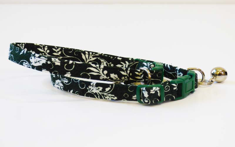 "Designer Cat Collar ""Holly"" by Mabel & Mu"
