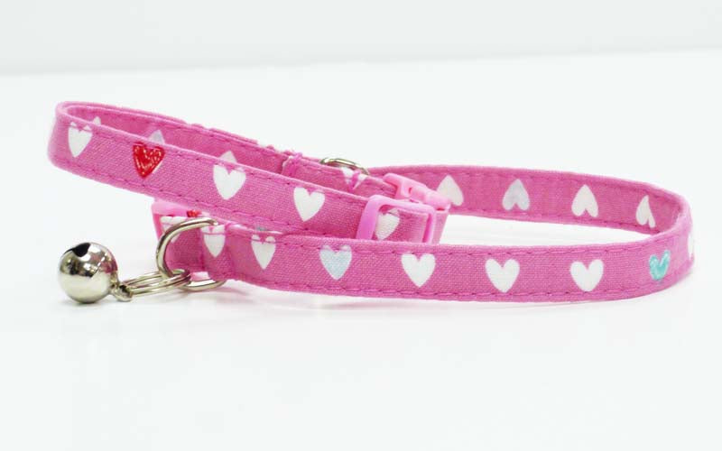 "Designer Cat & Kitten Collar ""Princess & The Unicorn"" by Mabel & Mu"