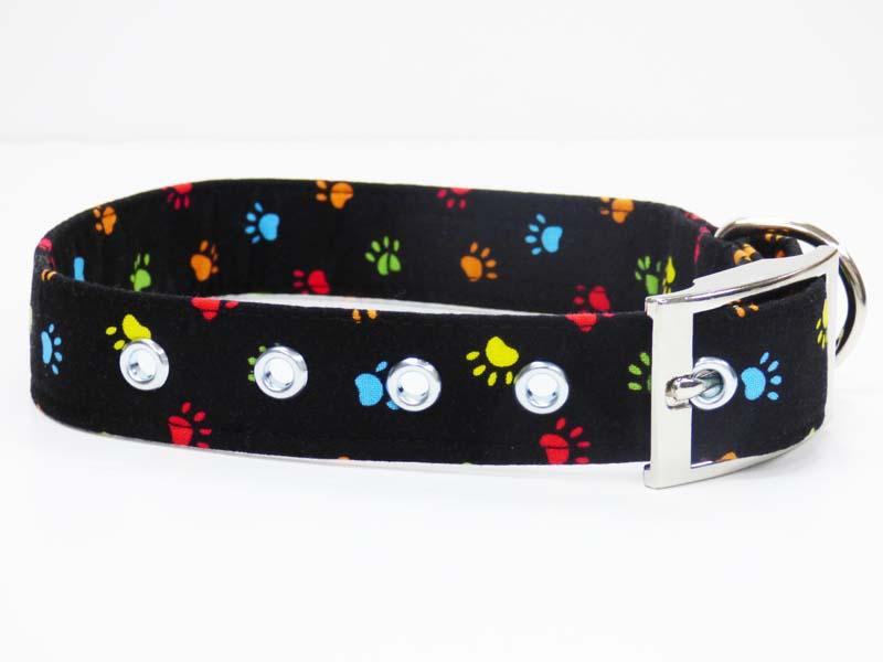 "Metal Dog Collar ""Paw-Some"" by Mabel & Mu"