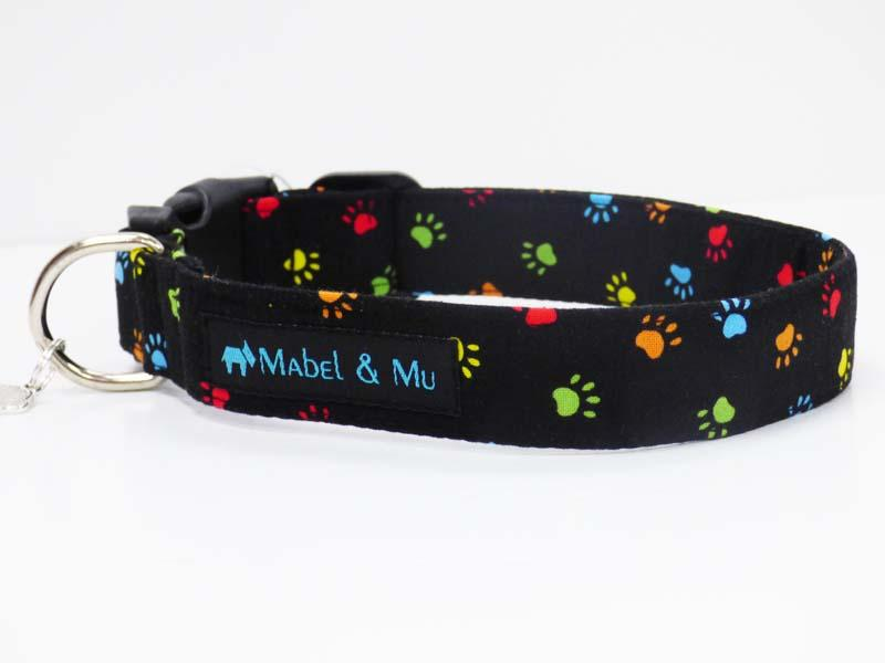 "Designer Dog Collar Range ""Paw-Some"" by Mabel & Mu"