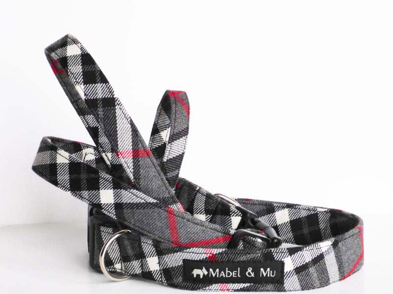 "Designer Dog Collar ""Family Walks"" Range by Mabel & Mu"