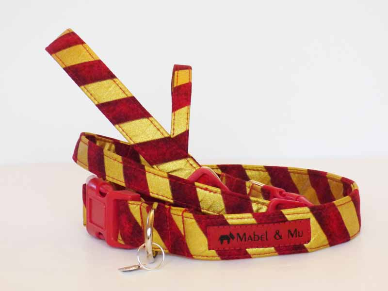 "Designer Dog Collar Range ""Wizardry"" by Mabel & Mu"