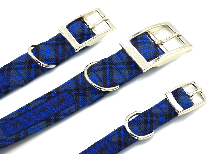 "Metal Dog collar ""Dapper Walks"" by Mabel & Mu"