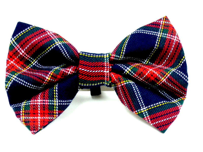 "Designer Dog & Cat Bow Tie ""Derwent Walks"" by Mabel & Mu"
