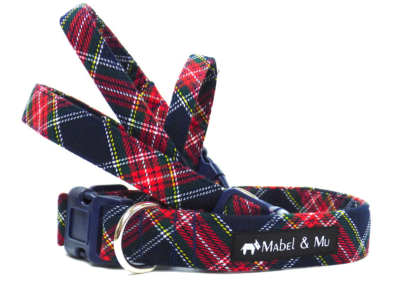"Designer dog collar range ""Derwent Walks"" by Mabel & Mu"