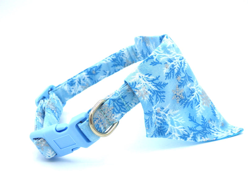 "Dog Collar Bandana ""Frozen"""