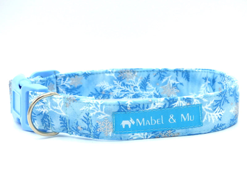 "Limited Edition Dog Collar ""Frozen"" Range by Mabel & Mu"