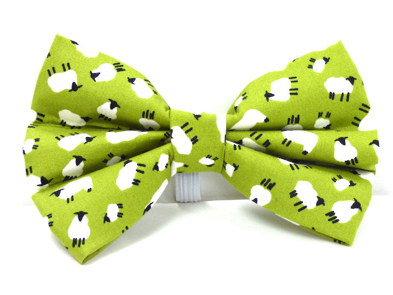 "Designer Cat & Kitten Bowtie ""Herdwick"" by Mabel & Mu"