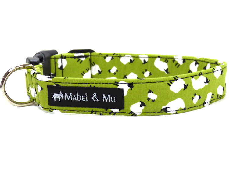 "Designer Dog Collar ""Herdwick"" by Mabel & Mu"