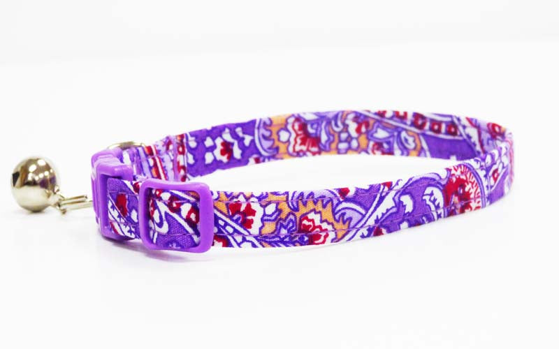 "Cat & Kitten Collar ""Lavender Scent"" by Mabel & Mu"