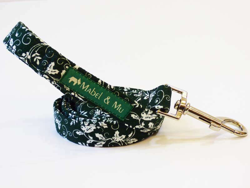 "Designer Dog Lead ""Holly""  by Mabel & Mu"