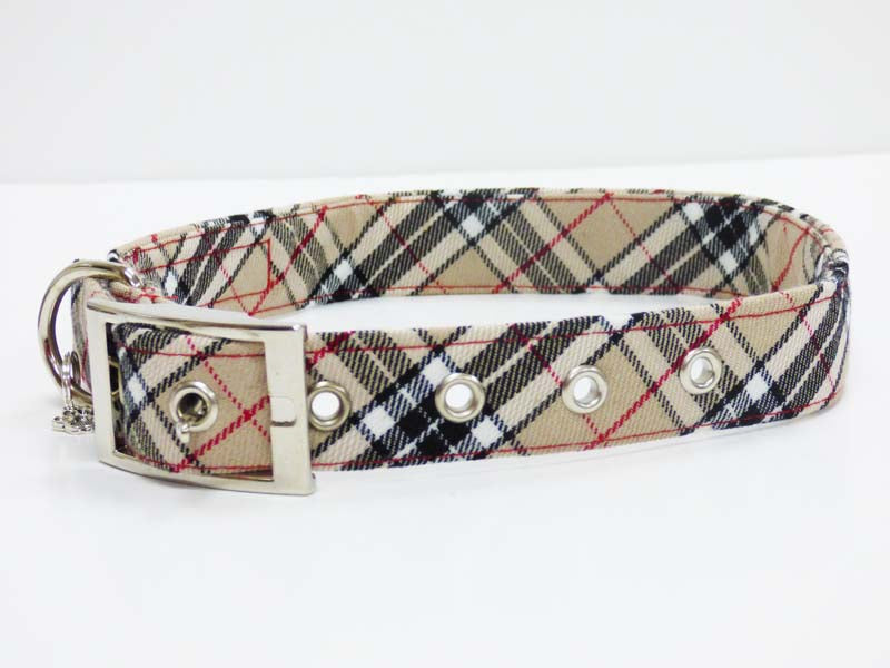 "Metal Buckle Dog Collar Range ""Designer"" by Mabel & Mu"