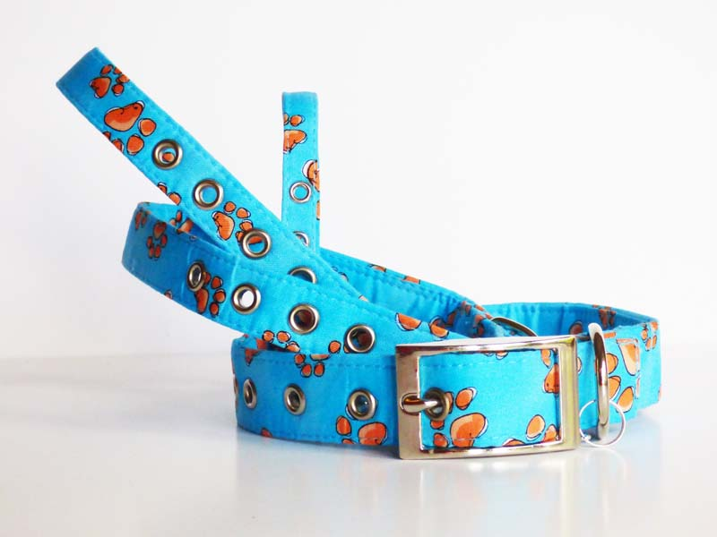 """My Best Friend"" Metal Dog Collar by Mabel & Mu"
