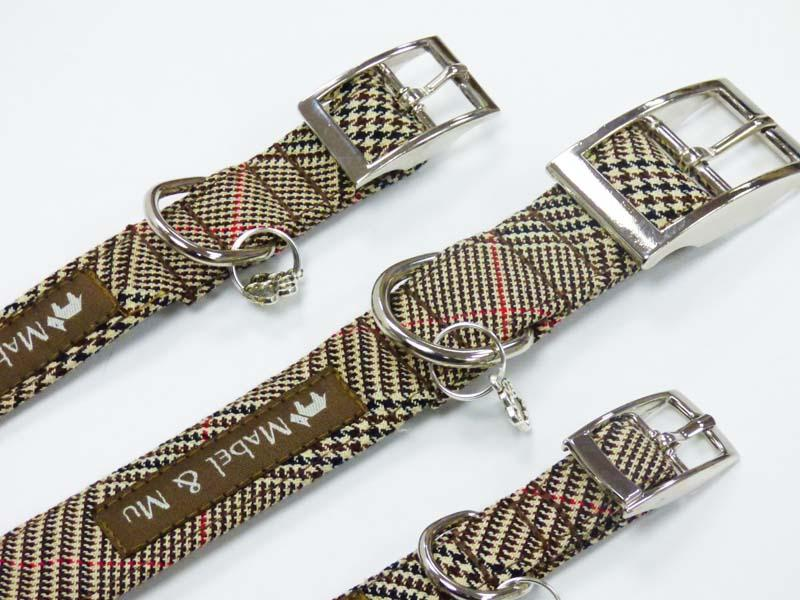 """Country Escape"" Metal Dog Collar by Mabel & Mu"