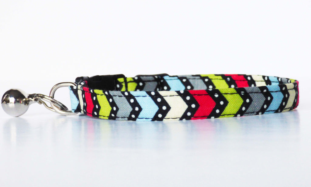 "Cat & Kitten Collar ""Flash Bang Wallop"" by Mabel & Mu"