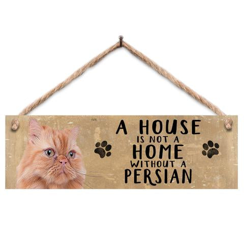 "Rustic Wooden Sign ""Persian"" @ Mabel & Mu"