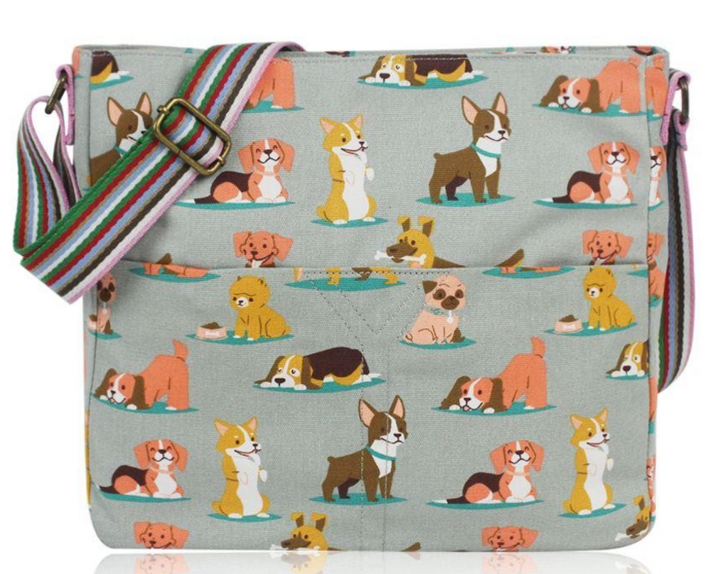 Crossbody Fun Dog Design - Mabel & Mu