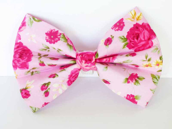 "Dog Bow Tie ""Tea Rose"" by Mabel & Mu"