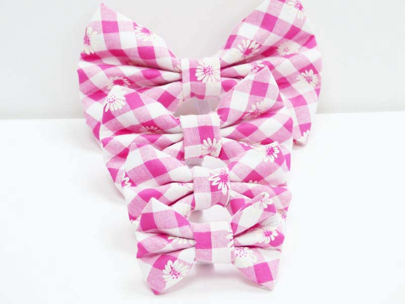 "dog Bow Tie ""Daisies"" by Mabel & Mu"