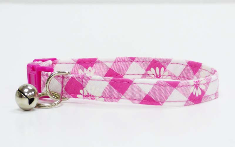 "Cat & Kitten Collar ""Daisies"" by Mabel & Mu"