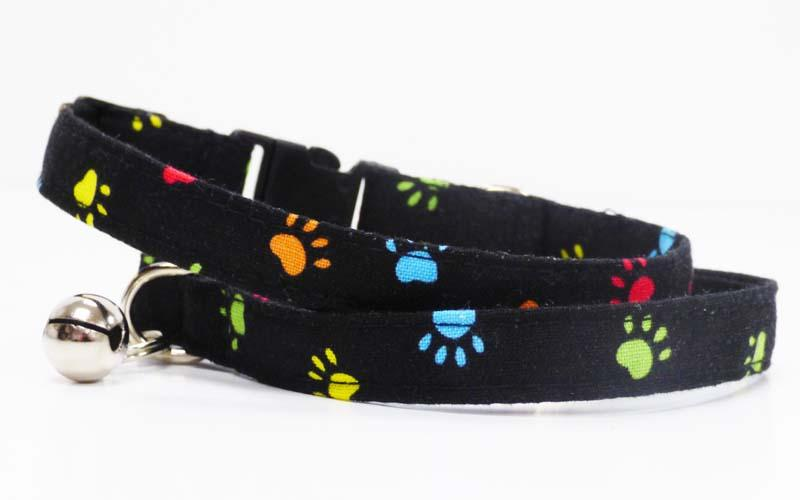 "Designer Cat & Kitten Collar ""Paw-Some"" by Mabel & Mu"