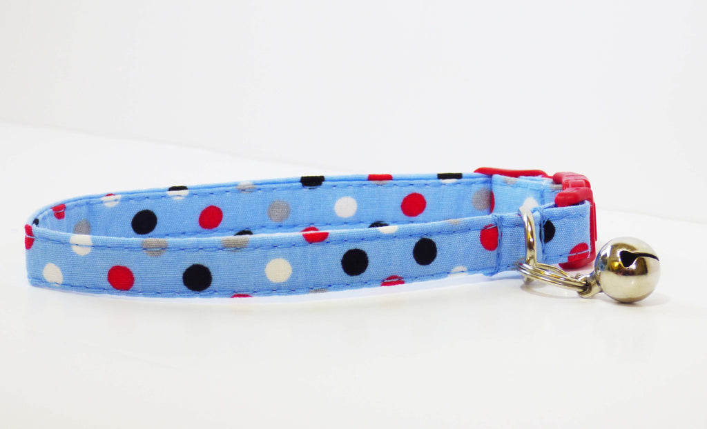 "Designer Cat Collar ""Skylark"" by Mabel & Mu"