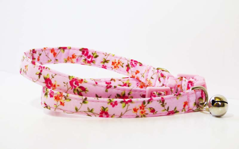 "Designer Cat Collar Range ""Victoria Sponge"" by Mabel & Mu"
