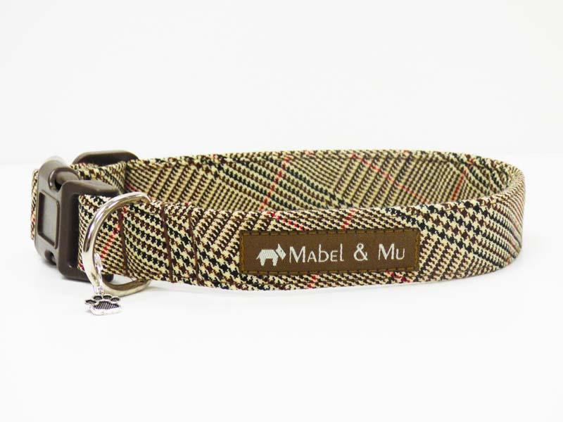 """Country Escape"" Dog Collar Range by Mabel & Mu"