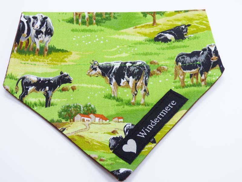 "Bandana ""Cows in the Country"" by Mabel & Mu"