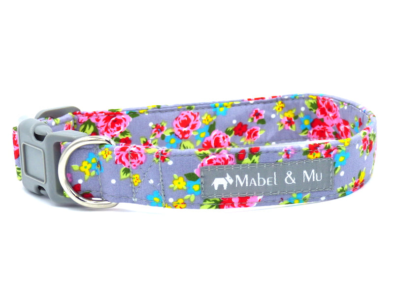 "Designer Dog Collar ""Frosted Cupcake"" by Mabel & Mu"