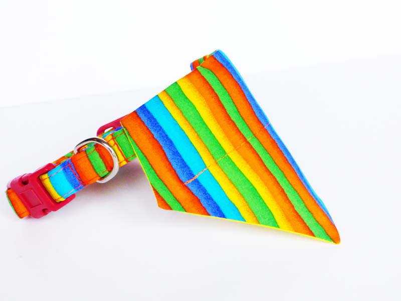 Rainbows Dog & Cat Bandana by Mabel & Mu