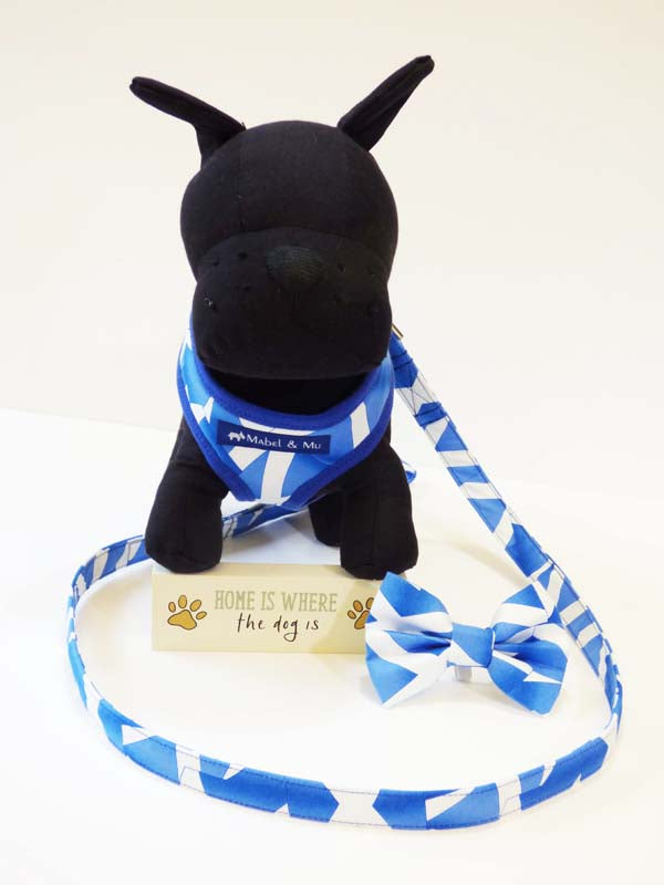 "Dog Harness  ""Scotland"" by Mabel & Mu"