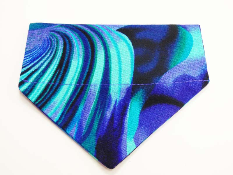 "Cat Bandana ""Seascape"" by Mabel & Mu"