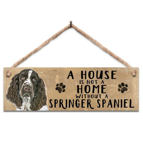 "Rustic Wooden Sign ""Springer"" @ Mabel & Mu"