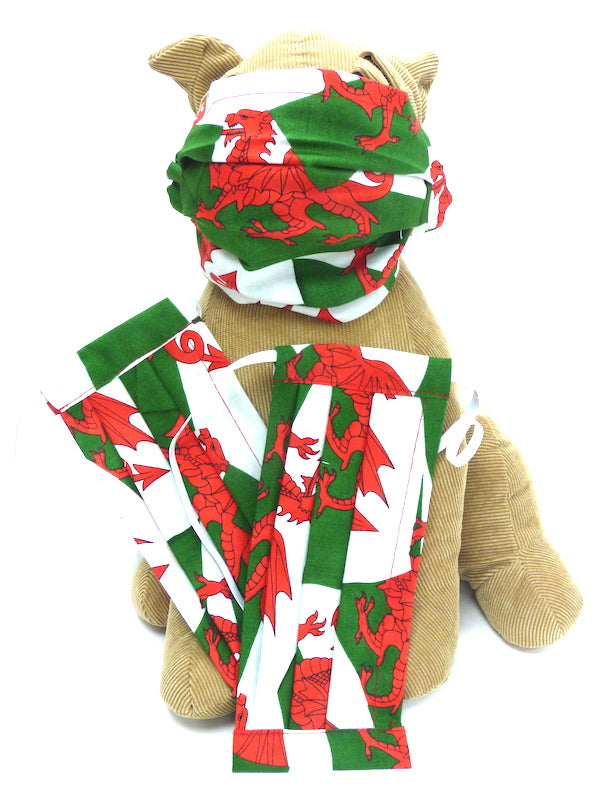 "Wales Flag ""Face Mask"""