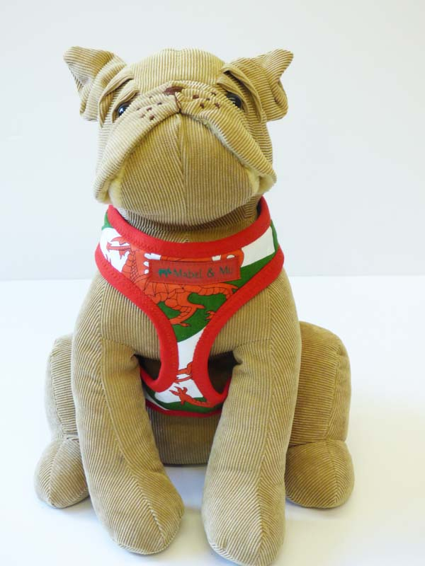 "Dog Harness  ""Wales"" by Mabel & Mu"