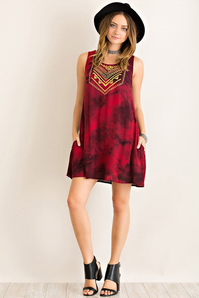 Bailey Tie Dye Dress