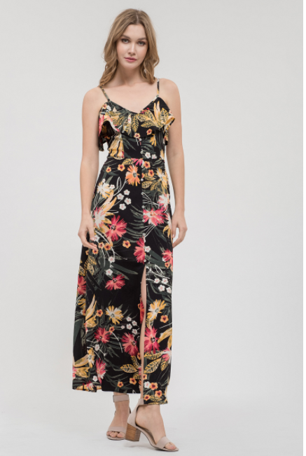 Jungle Nights Maxi Dress