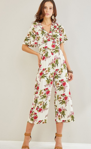 So Fresh & So Floral Jumpsuit