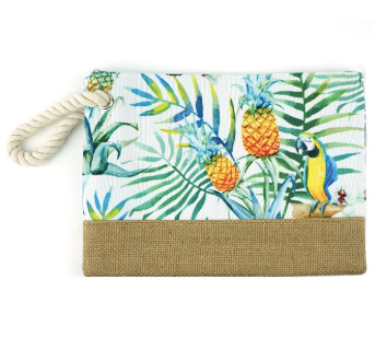 Tropical Pineapple Pouch