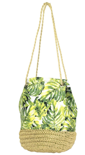 Leaf Bucket Shoulder Bag