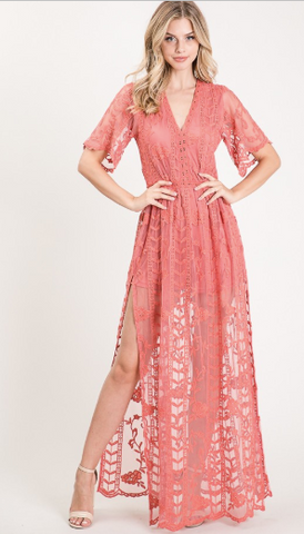 Rose Vine Dress