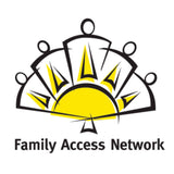 Buzztag gives back Family Access Network promotional product company bend oregon