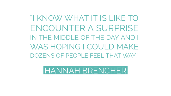 buzztag Inspiration More Love Letters Hannah Brencher words of wisdom